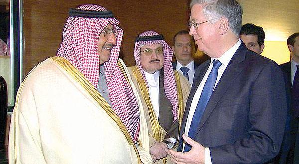 جانشین ولیعهد عربستان در لندن مبارزه با «داعش» و پرونده یمن را بررسی می کند