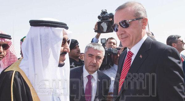 پادشاه عربستان و رئیس جمهور ترکیه افق همکاری و قضایای مشترک را بررسی می کنند