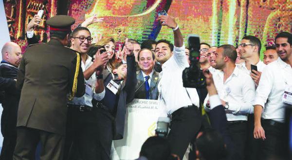 السیسی: مصر به پا می خیزد… منتظر {انقلاب} سومی نیستم