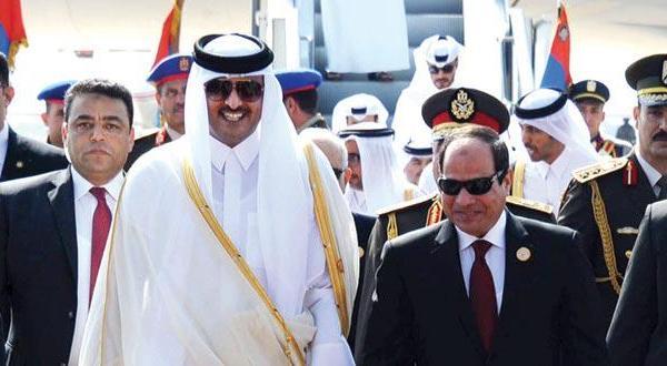 شکسته شدن یخ ها بین دوحه و مصر و باز گشت سفیر قطر به قاهره