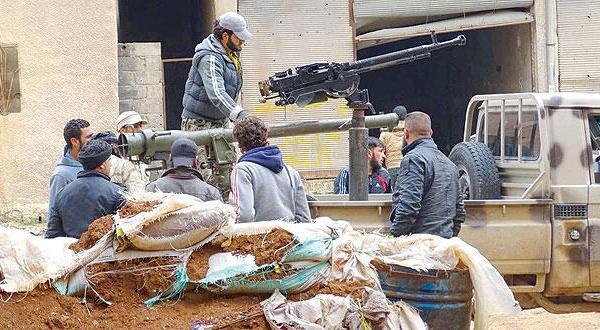 ارتش آزاد  آخرین گذرگاههای سوریه با اردن را به دست می گیرد
