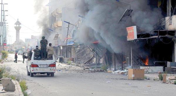 گزارش هایی از تکریت: اعدام های تلافی جویانه و کشیدن اجساد در خیابان ها