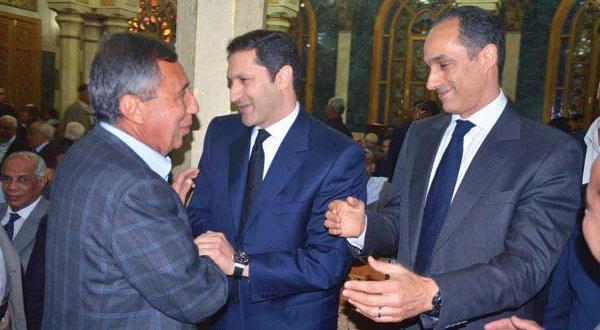 ظهور فرزندان مبارک در یکی از مساجد در میدان تحریر باعث جنجال در مصر می شود