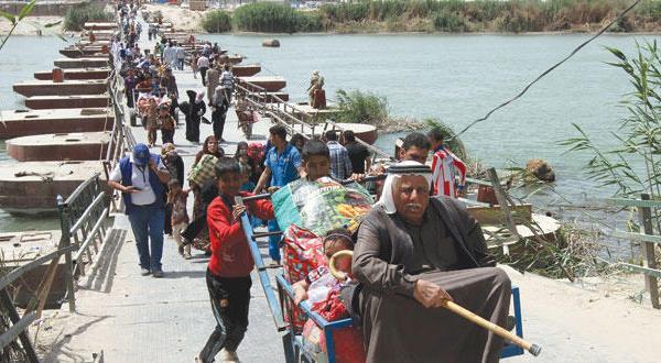 ۹۰ هزار آوره از استان انبار… نبرد در خیابان های رمادی
