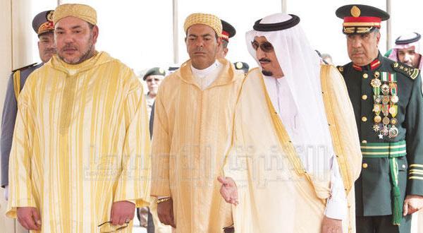 پادشاه عربستان سعودی با پادشاه مراکش تحولات منطقه ای و بین المللی را مورد بحث و بررسی قرار دادند
