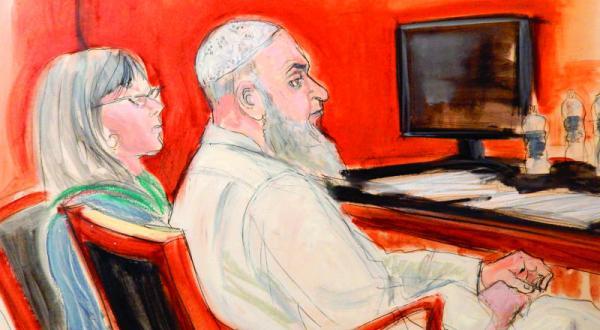 دادگاهی در آمریکا بر ضد مرد بن لادن در لندن حکم ابد صادر می کند