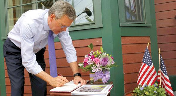 جب بوش می خواهد بر «موانع موروثی خانواده» غلبه کند
