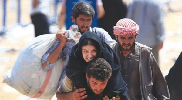 کردها گذرگاه تل ابیض را از «داعش» مصادره می کنند