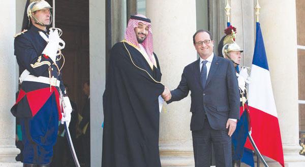 ریاض و پاریس با ۱۰ توافق نامه مشارکت استراتژیک خود را آغاز می کنند