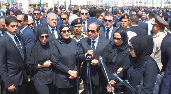 السیسی پس از ترور دادستان: دستور قتل از درون زندان صاد شد