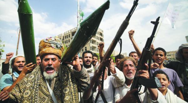 ولد الشیخ پیش از ترک صنعا برای آتش بس مذاکره می کند… و صالح طفره می رود