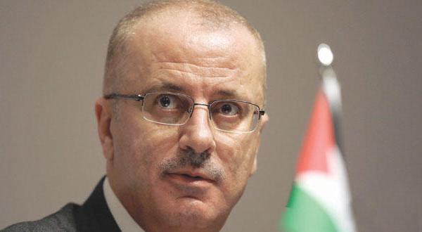 نخست وزیر فلسطین: کسانی هستند که لای چرخ حکومت من چوب می گذارند