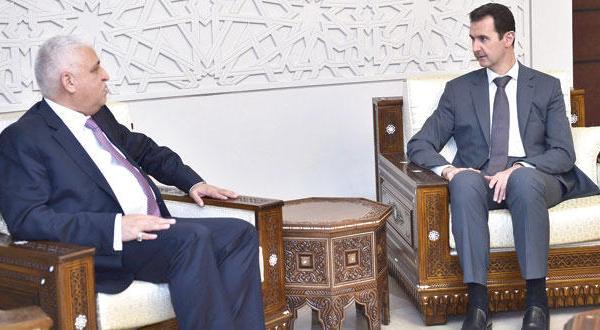 فرستاده العبادی به اسد، سه پیام منتقل کرد که یکی از آن ها آمریکایی بود