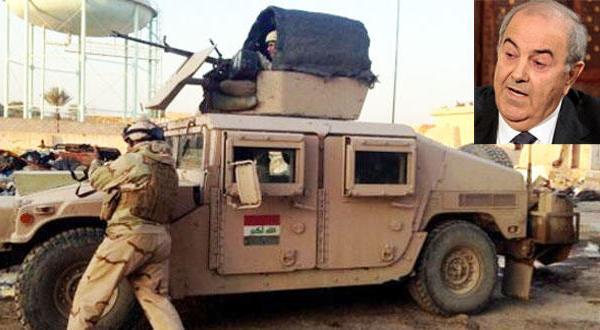 علاوی: پیروزی سیاسی تضمین کننده پیروزی نظامی در انبار
