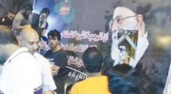 تظاهرات عراق پیش از وارد شدن تهران به روی خط با پاره کردن عکس خامنه ای