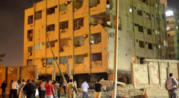 انفجار خودروی بمب گذاری شده در نزدیکی مقر امنیت ملی در شمال قاهره