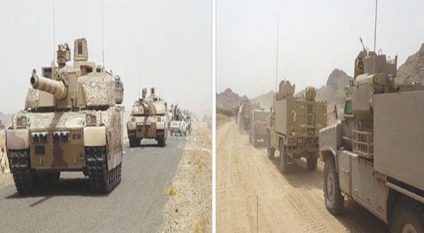 ازدحام نیروهای عربی در یمن پیش از نبرد آزاد سازی صنعا