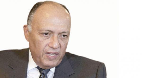 سامح شکری وزیر خارجه مصر
