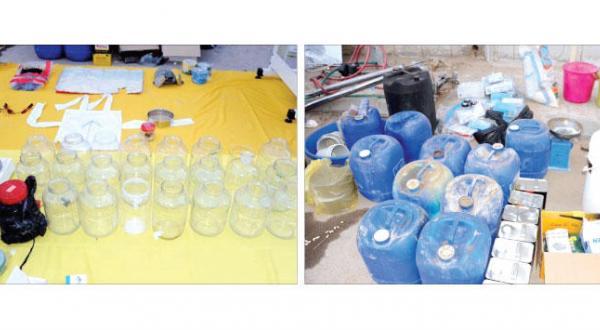 ریاض:  کشف یک کارگاه مواد منفجره که یک سوری آن را مدیریت می کند و یک خانم فلیپینی بمب گذاری شده
