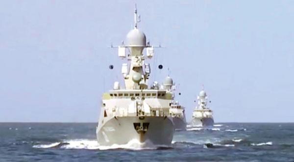 مداخله روسیه به دریا گسترش می یابد… پوتین حمله «برداشت محصول» را آغاز می کند
