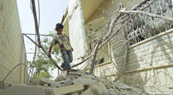 گرسنگی دسته جمعی پس از بشکه های مواد منفجره و مواد شیمیایی!