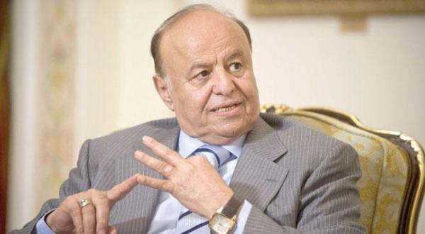 هادی: عملیات تروریستی برای کمک به دستور کار تحمیل شده بر جامعه یمن صورت می گیرد