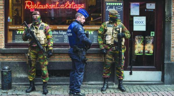 در پی افزایش «هشدارهای تروریستی» برای روز دوم… بروکسل شهر ارواح