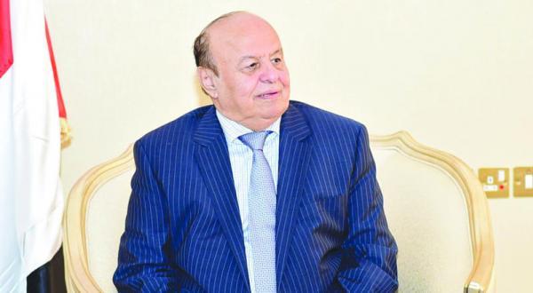 عبد ربه منصور هادی رئیس جمهور یمن