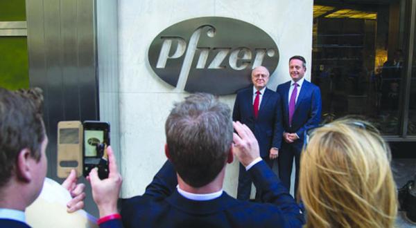 مالیات در آمریکا «فایزر» را وادار به امضای قرارداد بزرگی در ایرلند کرد