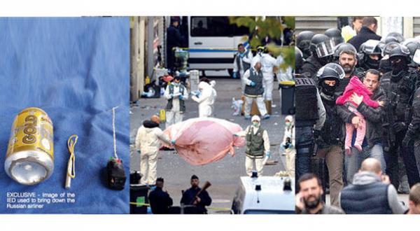 آماده باش جهانی بر ضد «داعش».. سنت دنیس فرانسه میدان جنگی