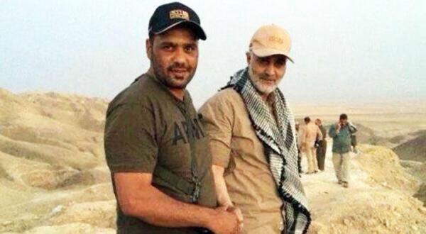 ژنرال ایرانی قاسم سلیمانی در بازدید میدانی از یکی از جبهه های عراق – عکس از الشرق الأوسط