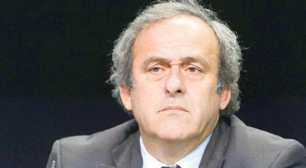 میشل پلاتینی رئیس کنفدراسیون یوفا – عکس از خبرگزاری فرانسه