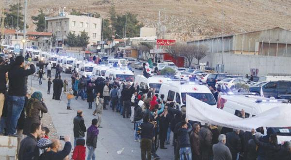 خروج صدها تن از سوریه پس از معامله ای بین رژیم و مخالفان