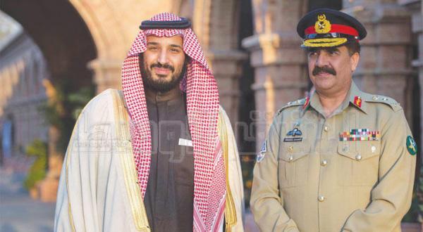 هشدار پاکستان مبنی بر پاسخ نظامی بر ضد هر کسی که بر عربستان سعودی توطئه کند