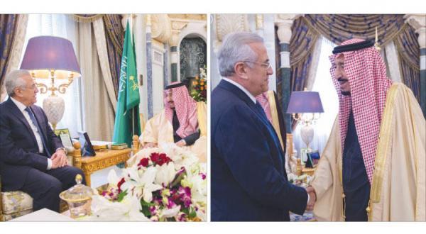پادشاه عربستان سعودی با میشل سلیمان رئیس جمهور سابق لبنان دیدار می کند… دو طرف آخرین تحولات لبنان را مورد بحث قرار می دهند