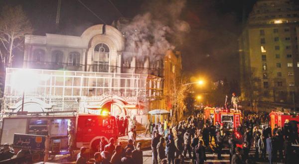 تهران پاداش حمله کنندگان به سفارت عربستان را با کاهش اتهامات به آن ها می دهد