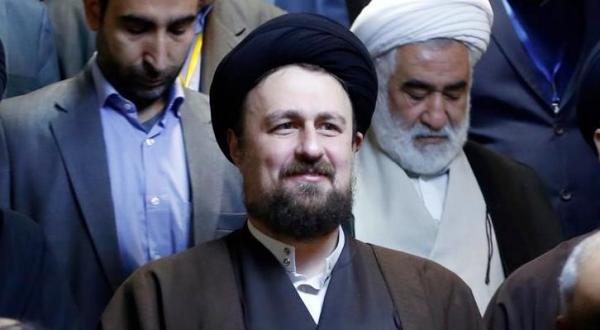 حسن خمینی نوه بنیانگذار جمهوری اسلامی ایران