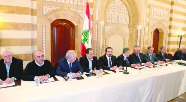 نشست نیروهای «14 مارس» برای موضع گیری در پی تصمیم عربستان سعودی به قطع کمک های نظامی به لبنان – عکس از دلاتی ونهرا