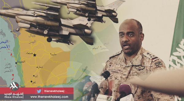 سرتیپ احمد عسیری طی کنفرانسی مطبوعاتی در مقر وزیر دفاع عربستان سعودی