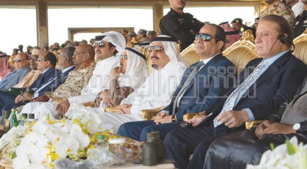 """عربستان سعودی: """"رعد شمال"""" مانند جنگ واقعی"""