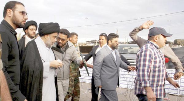 تحصن صدر به تنهایی در «منطقه سبز» بغداد