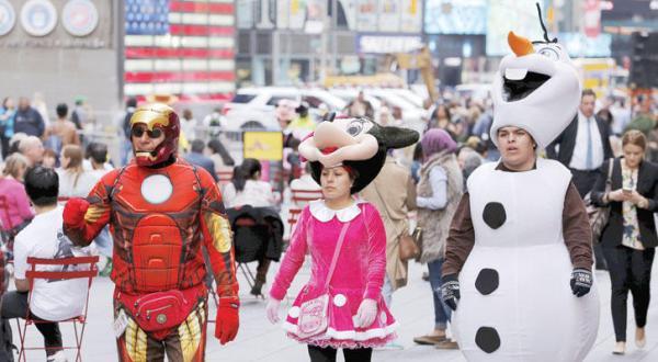 روز جهانی عروسک در میدان تایمز