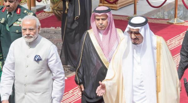 پادشاه عربستان سعودی: به دنبال همکاری استراتژیک با هند هستیم