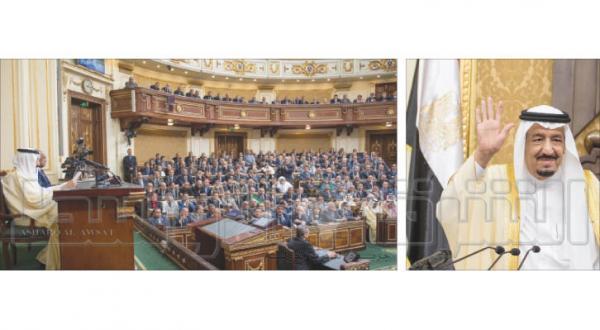پادشاه عربستان سعودی خطاب به مصریان: کار مشترک ما را قوی تر می کند