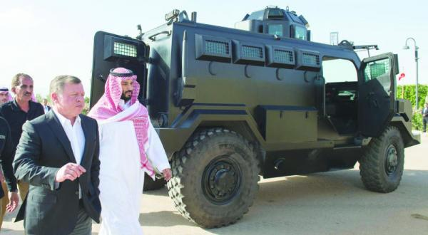 توافق جانشین ولیعهد عربستان سعودی و پادشاه اردن برای ایجاد صندوق سرمایه گذاری مشترک