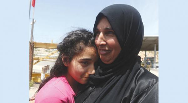 آزادی جوانترین زندانی فلسطینی از زندان های اسرائیل