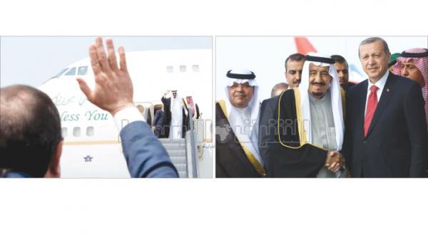 پس از دستاوردهای «کیفی» در مصر..  پادشاه عربستان در ترکیه برای بررسی نگرانی های اسلامی