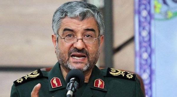 ژنرال محمد علی جعفری فرمانده «سپاه پاسداران» ایران