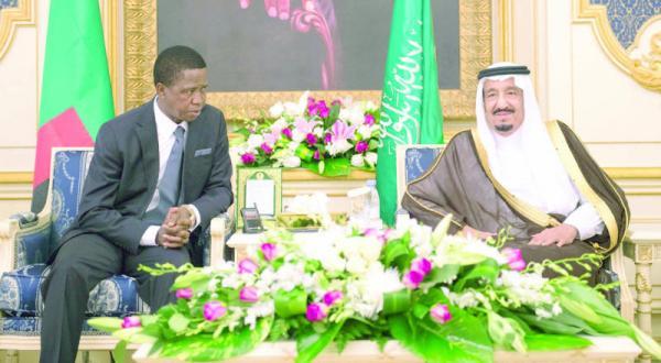 نشست عربستان سعودی – زامبیا در جده برای بررسی راه های همکاری دو جانبه و تحولات منطقه ای و بین المللی