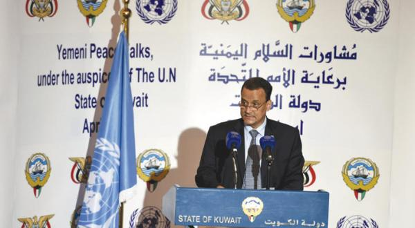 ولد الشیخ به «الشرق الأوسط»: مذاکرات یمن وارد مسائل اصلی شد